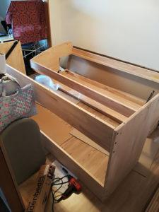 【リノキッズ】子ども用学習机付き二段ベッドを買ってみた