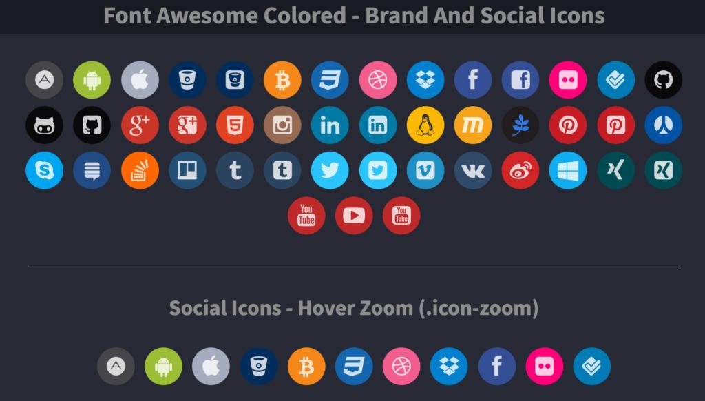 コピペでできる動きが気持ちいいSNSボタンのCSSデザイン色々
