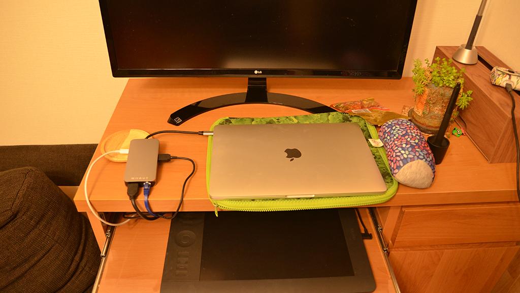 ブロガーさんにおすすめ。MacBook(TypeC)用の多機能USBハブ紹介