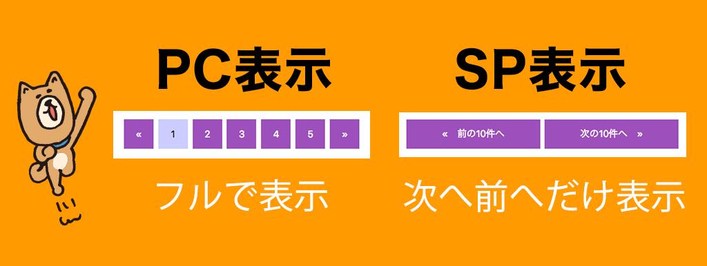 【レスポンシブ対応】おしゃれなページャーをCSSだけで作る!コピペ出来るデザインサンプル