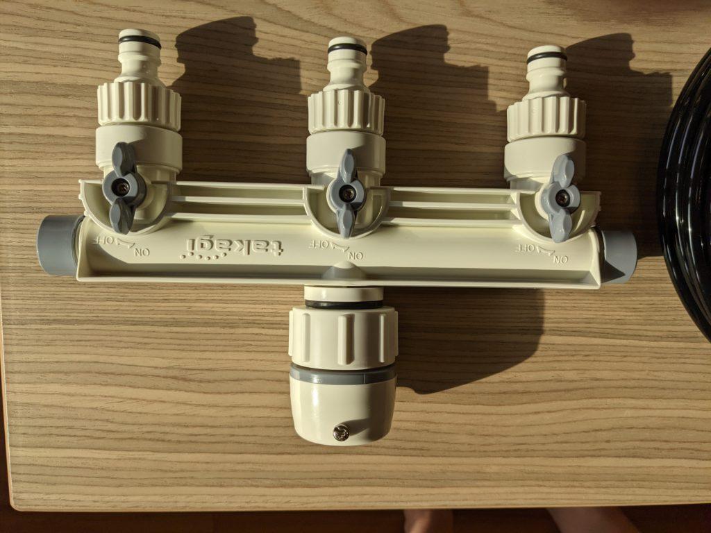 タカギ(takagi) 自動水やり タイマー付(家庭菜園用)でマンションベランダの水やりを自動化してみた。